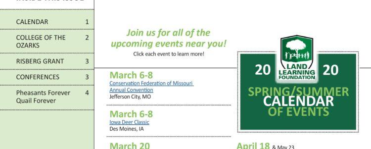 Mitico Spring 2020 Newsletter
